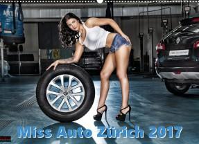 Miss Auto Zürich Kalender 2017