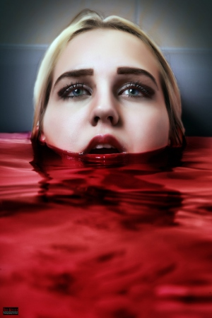 Blood Bath Portrait