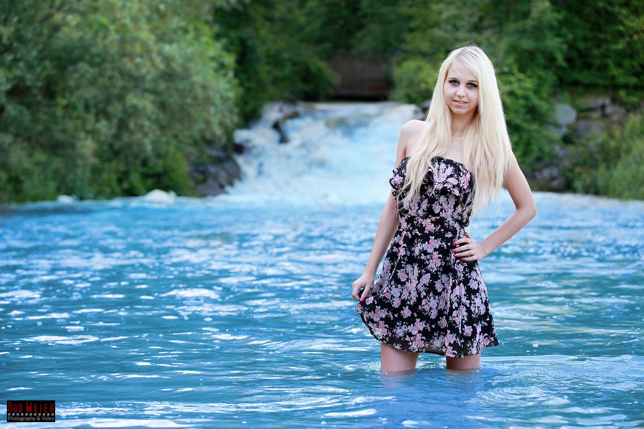 Blue Water - Outdoor Fotoshooting