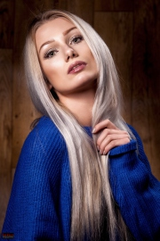 Portrait - Blue Pullover