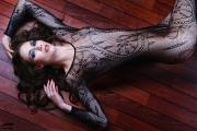 Netz Catsuit, Lara von Känel 2