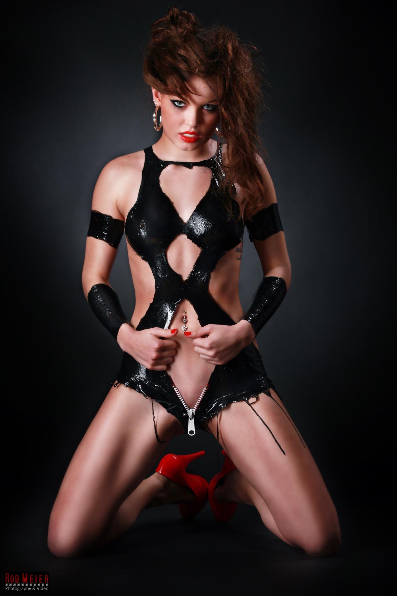 Latex Kleid Porn