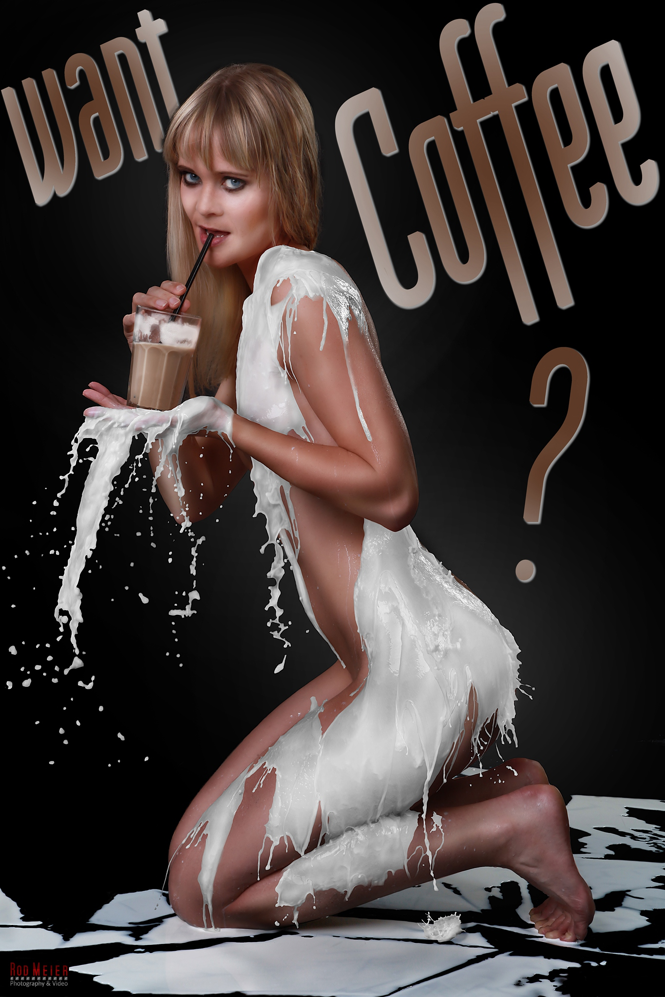 Milk Dress - Milchkleid - Want Coffee