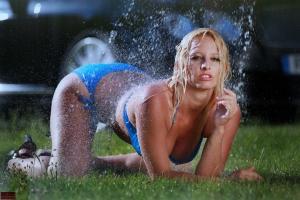 Wasser Fotoshooting / Cover für Automagazin
