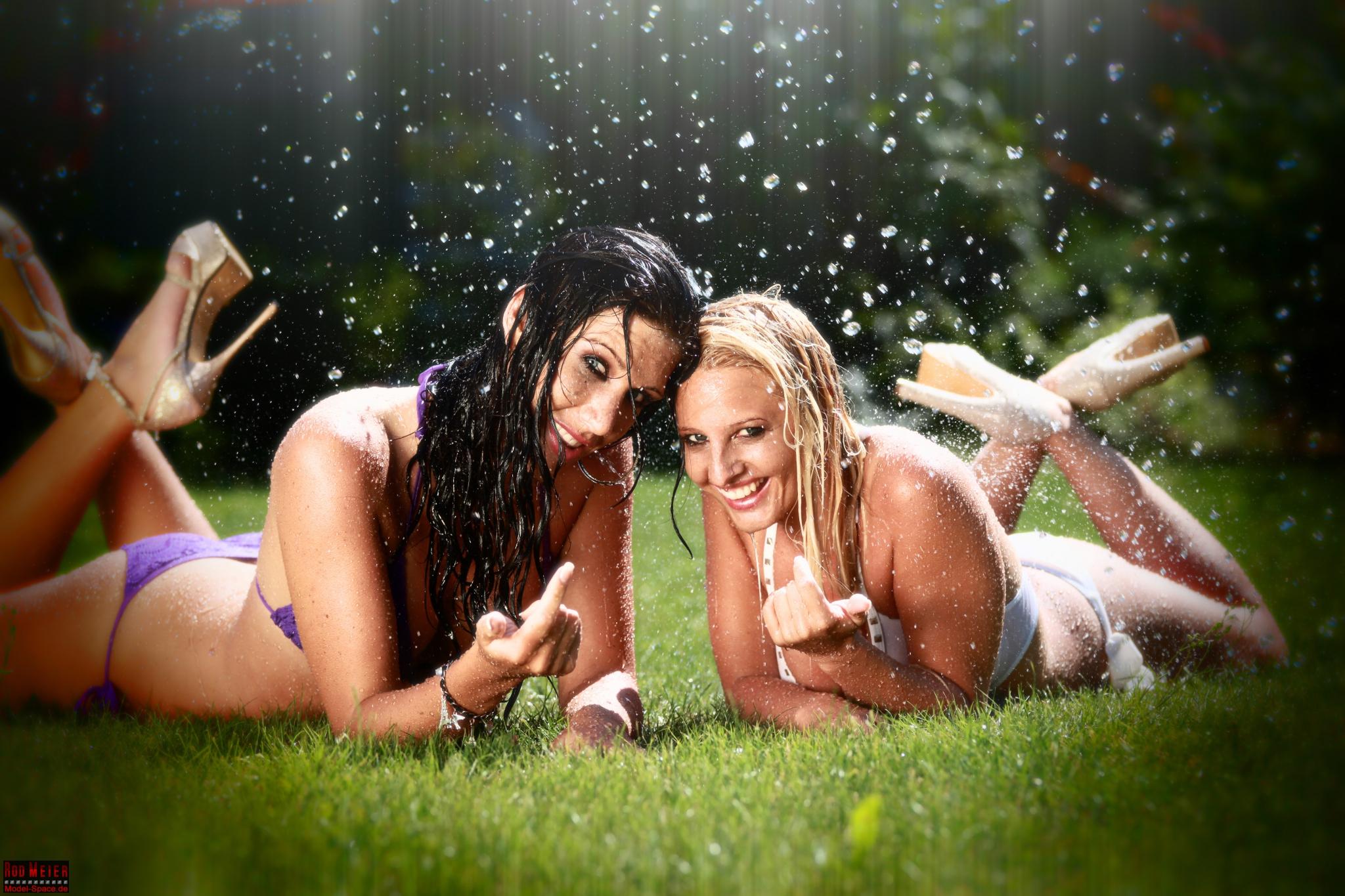 Wasser Fotoshooting